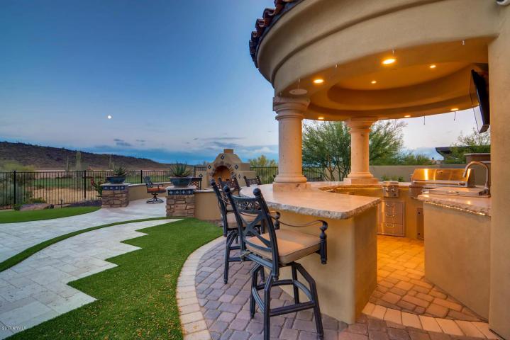 $1.7 million Mediterranean entertainers dream lavish home in Peoria, AZ 11