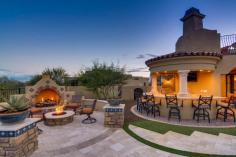 $1.7 million Mediterranean entertainers dream lavish home in Peoria, AZ 13