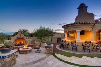 $1.7 million Mediterranean entertainers dream lavish home in Peoria, AZ 13