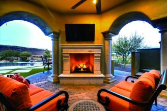 $1.7 million Mediterranean entertainers dream lavish home in Peoria, AZ 14