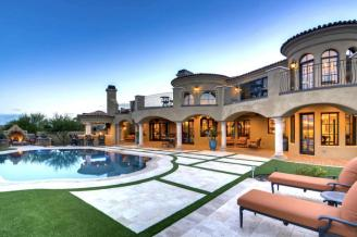 $1.7 million Mediterranean entertainers dream lavish home in Peoria, AZ 15