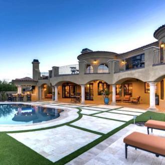 $1.7 million Mediterranean entertainers dream lavish home in Peoria, AZ 15
