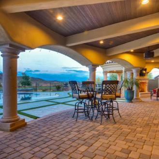 $1.7 million Mediterranean entertainers dream lavish home in Peoria, AZ 8