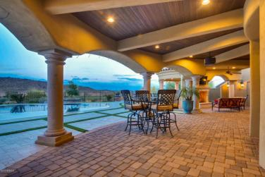 $1.7 million Mediterranean entertainers dream lavish home in Peoria, AZ 8