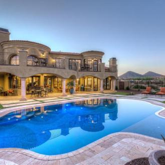 $1.7 million Mediterranean entertainers dream lavish home in Peoria, AZ 9