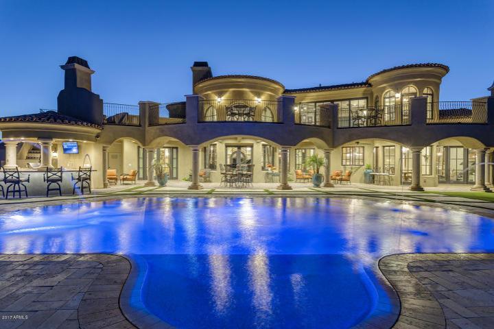 $1.7 million Mediterranean entertainers dream lavish home in Peoria, AZ