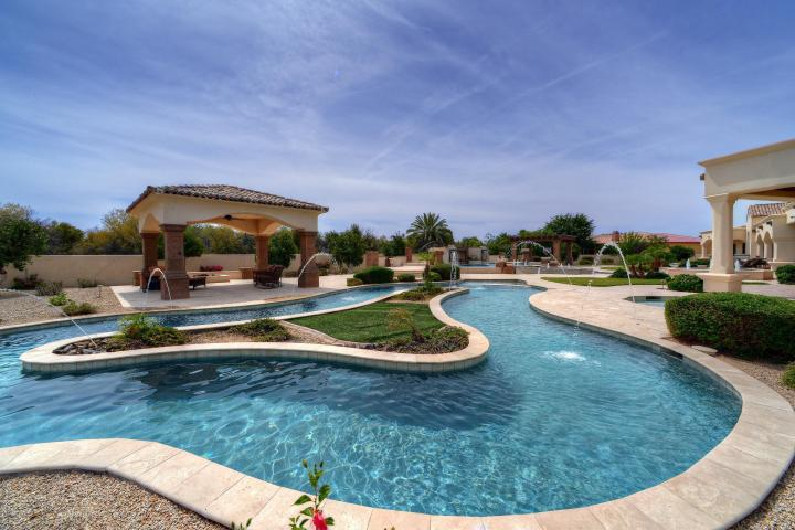 This resort-style Mesa mansion is the perfect summer pad! 21