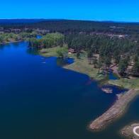 Luxury waterfront estate on Rainbow Lake