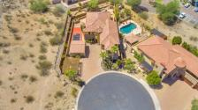 Secluded Ahwatukee Foothills custom home with Ancient Petroglyph 12