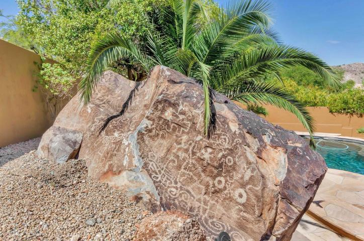 Secluded Ahwatukee Foothills custom home with Ancient Petroglyph 2