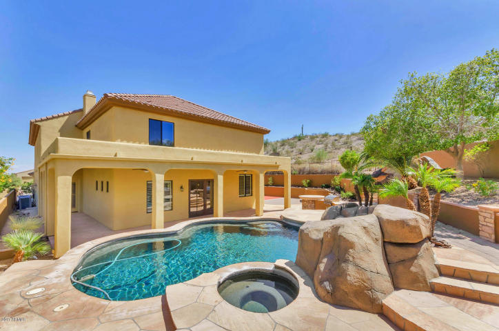 Secluded Ahwatukee Foothills custom home with Ancient Petroglyph 3