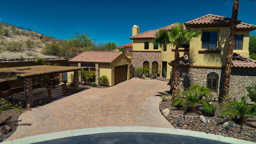 Secluded Ahwatukee Foothills custom home features something very ...