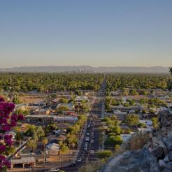 Mid-Century Modern design by Paul Christian Yeager sits on one of the highest view sights in North Phx 20