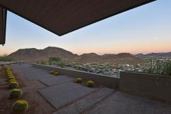 Mid-Century Modern design by Paul Christian Yeager sits on one of the highest view sights in North Phx 6