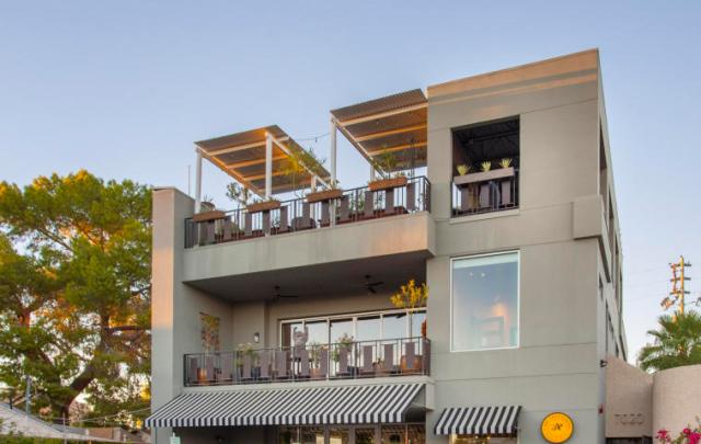 Three-story mix use industrial style Penthouse & Retail building in Old Town Scottsdale 1
