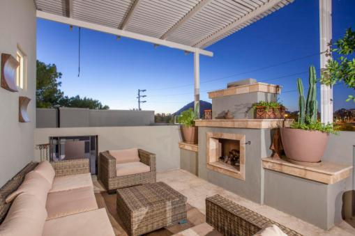 Three-story mix use industrial style Penthouse & Retail building in Old Town Scottsdale 10