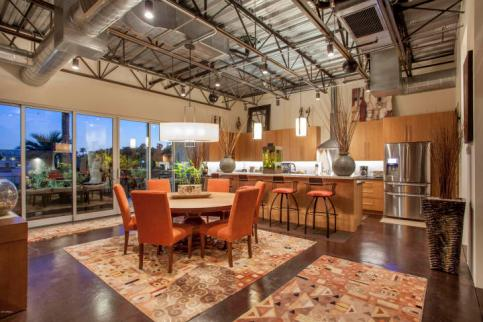 Three-story mix use industrial style Penthouse & Retail building in Old Town Scottsdale 2