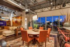 Three-story mix use industrial style Penthouse & Retail building in Old Town Scottsdale 3