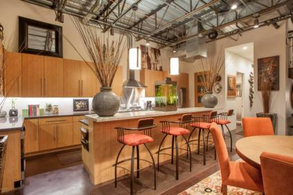 Three-story mix use industrial style Penthouse & Retail building in Old Town Scottsdale 4
