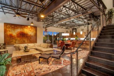 Three-story mix use industrial style Penthouse & Retail building in Old Town Scottsdale 5