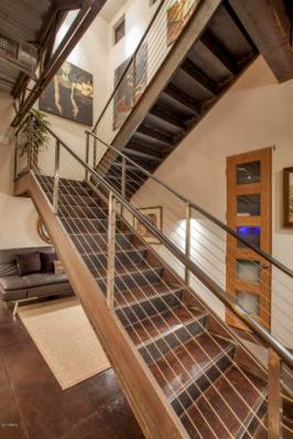 Three-story mix use industrial style Penthouse & Retail building in Old Town Scottsdale 6