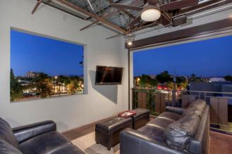 Three-story mix use industrial style Penthouse & Retail building in Old Town Scottsdale 9