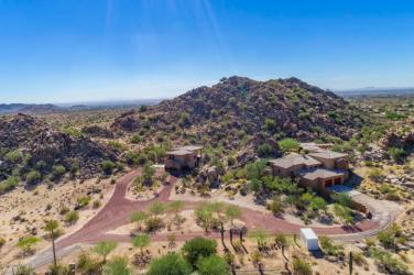 $1.4M Off the grid multi-level estate with guest house is a luxurious retreat and has forever views 17