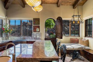 $1.4M Off the grid multi-level estate with guest house is a luxurious retreat and has forever views 6
