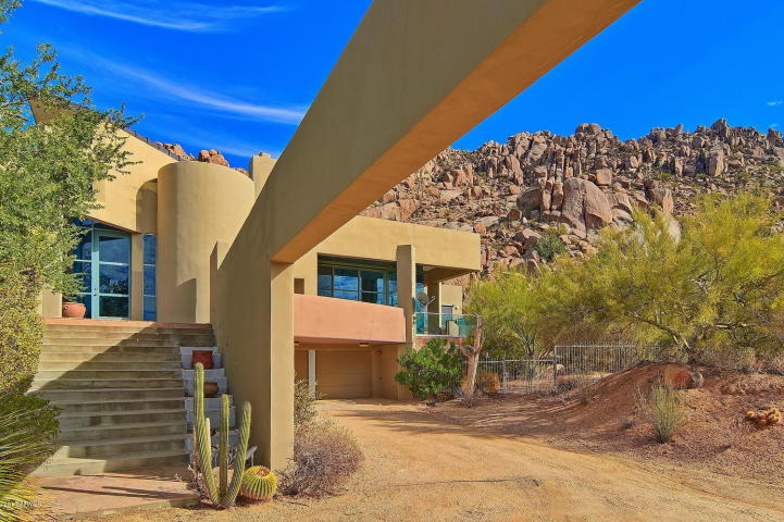 $1.4M Scottsdale Contemporary nestled amongst the Boulders, designed by two famous architects, & has 1400 bottle wine cellar 1
