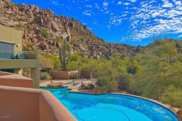 $1.4M Scottsdale Contemporary nestled amongst the Boulders, designed by two famous architects, & has 1400 bottle wine cellar 4