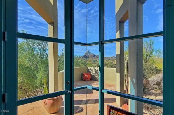 $1.4M Scottsdale Contemporary nestled amongst the Boulders, designed by two famous architects, & has 1400 bottle wine cellar 5