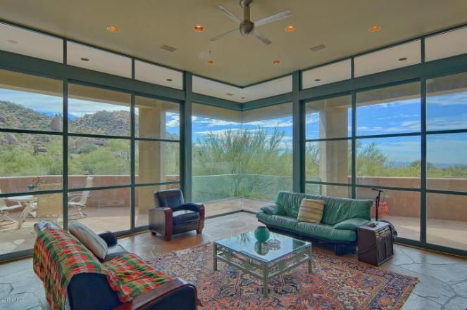 $1.4M Scottsdale Contemporary nestled amongst the Boulders, designed by two famous architects, & has 1400 bottle wine cellar 8