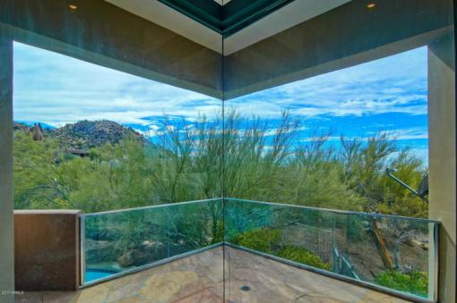 $1.4M Scottsdale Contemporary nestled amongst the Boulders, designed by two famous architects, & has 1400 bottle wine cellar 9
