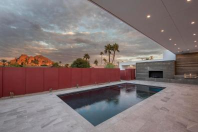 New & Sleek all White Modern Sanctuary in Phoenix-Arcadia seeks $2.3M 11