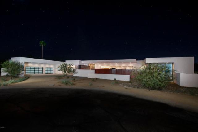 New & Sleek all White Modern Sanctuary in Phoenix-Arcadia seeks $2.3M 2