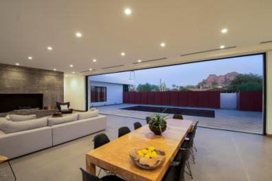 New & Sleek all White Modern Sanctuary in Phoenix-Arcadia seeks $2.3M 3