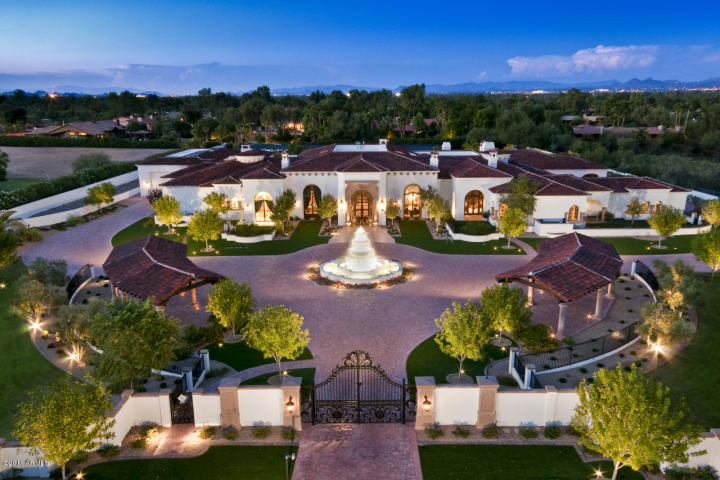 bank owned mansion