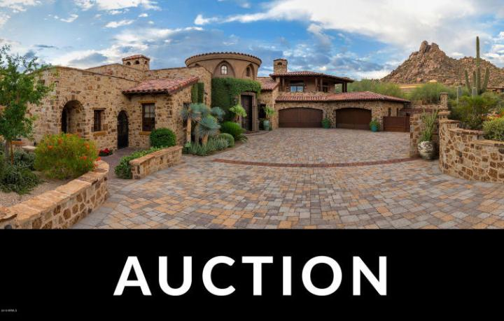 Going Once... Going Twice… Three Arizona Cites, 3 Luxury Home Auctions coming up… 10