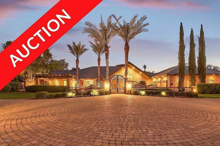Three Arizona Cites, 3 Luxury Home Auctions