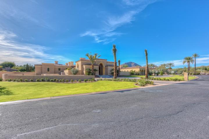 Ginormous Unfinished $19M Paradise Valley mansion allows you to select your own finishes