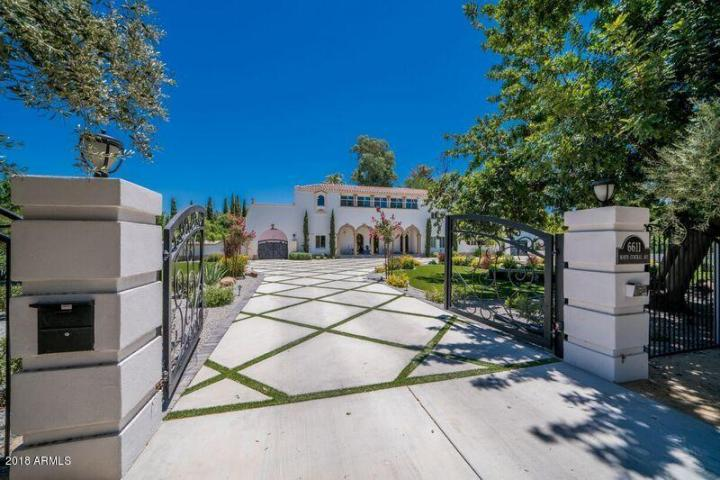 Beautiful 1914 privately gated Spanish estate on Central Avenue