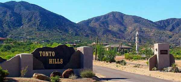 Tonto Hills Entrance