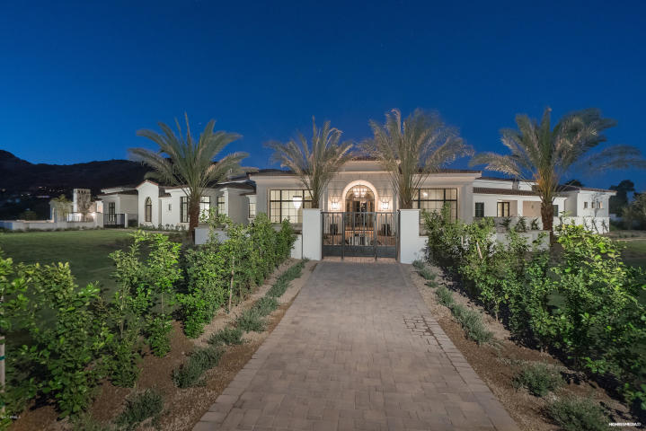 The 3 Most Expensive Homes Sold in Scottsdale, Phoenix, and Paradise Valley In 2018 are 7