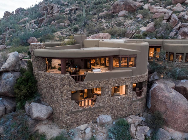 Insane Views from this Picture perfect Carefree Southwest contemporary surrounded by boulders 1