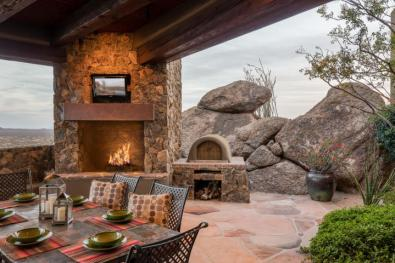 Insane Views from this Picture perfect Carefree Southwest contemporary surrounded by boulders 2