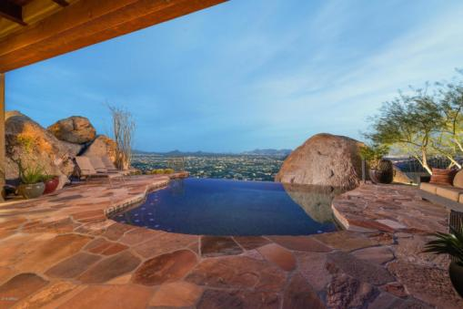 Insane Views from this Picture perfect Carefree Southwest contemporary surrounded by boulders 4