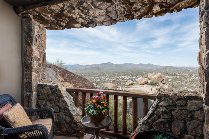 Insane Views from this Picture perfect Carefree Southwest contemporary surrounded by boulders 7